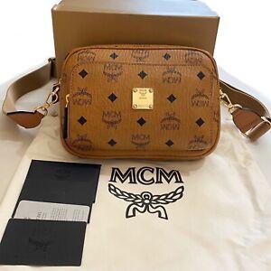 MCM Crossbody Klassik In Visetos CAMERA BAG STYLE Used