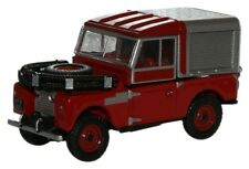 "BNIB OO GAUGE OXFORD 1:76 76LAN188012 LAND ROVER 88"" RED FIRE"