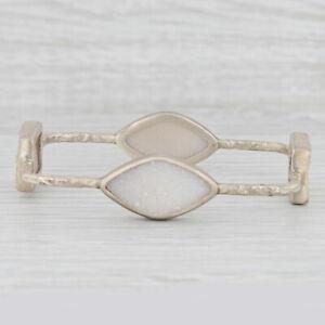 Natural clear quartz rock crystal 10mm gemstone carved Chinese DRAGON sterling silver clip on charm for link bracelet