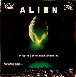 'Alien' super 8mm sound film 400ft.