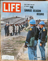 Life March 19 1965 Selma March John Lewis MLK - Andy Warhol 1965 Mustang GTO ADs
