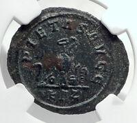 CARINUS as CAESAR Authentic Ancient 282AD Rome Genuine Roman Coin NGC i80390