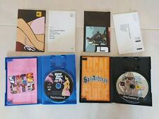 Grand Theft Auto: San Andreas & Vice City (Playstation 2) Both Complete - PAL