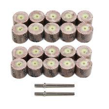 20pcs 320 Grit Sanding Sandpaper Metal Flap Wheel Discs for Dremel Rotary Tool