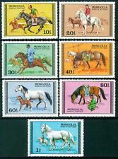 MONGOLIA - 1977 - Cavalli - (B)