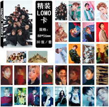 30pcs /set KPOP NCT127 NCT U Collective Photo Card Poster Lomo Cards Gifts
