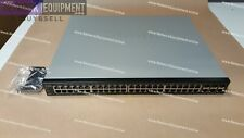 Cisco SG500X-48P-K9 48 x GB POE+ with 4 x 10 GB Stackable Managed Switch