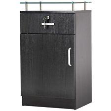 Salon Storage Station Cabinet Locking Drawer Beauty Stylist Equipment 3015