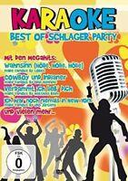 KARAOKE-BEST OF SCHLAGERPARTY  DVD NEU