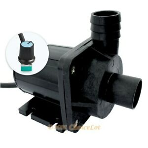DC24V CPU PC Cooling Motor Brushless Submersible Water Pump 1800L/H Flow&4m Head