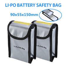 Fireproof Fiber Lipo Battery Safe Carry Box Pouch Bag Case for Dji Phantom 3 4