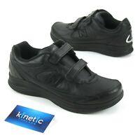 New Balance 577 Womens Sz 9 2E Black Walking Shoes WW577VK Hook & Loop Sneakers