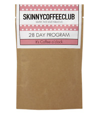 SKINNY COFFEE CLUB Weight Loss Program Metabolism Burn Healthy 28 Days Diet