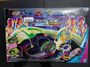 BEYBLADE BURST RISE Extreme Challenger Battle Set NEW OPEN BOX