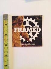 """Framed bikes sasquatch bicycle sticker 3""""x 3"""""""