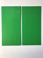 5x Lego 2x16 Light Bluish Gray Plates Lot long flats beams 2 x 16 dots studs