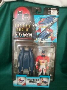 The Adventures of Batman & Robin TURBO SURGE DUO Force VTG Kenner 1996 90's NEW