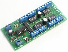 S-DEC DCC, digitaler Schaltdecoder, 4x2 UM,  NRMA DCC Standard digital, IEK