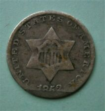 United States 1852 Silver Three Cent Coin