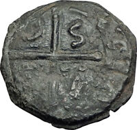 CRUSADERS of Antioch Tancred Ancient 1101AD Byzantine Time Coin St Peter i65108