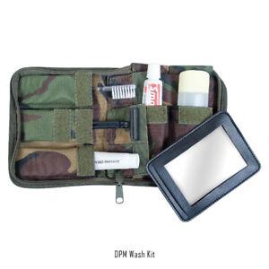 WebTex DPM Military Wash Kit - Fully Stocked, w/ Mirror - Survival Bushcraft MIL