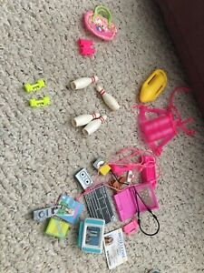 Vintage Barbie Accessories Lot
