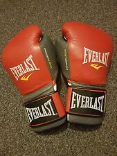 Everlast Powerlock Boxing Gloves 16oz in Excellent condition REDUCED!!!
