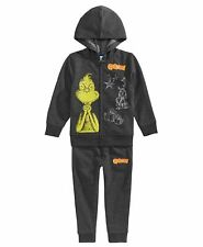 Dr.Seuss The Grinch Fleece Hoodie & Pants Set Size 4  Nwt Retail $60