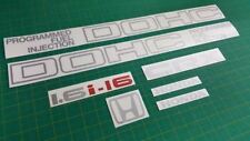 CRX 1G / Civic AG 1984 - 1987 full replacement Decals / Stickers DOHC 1.6i 16