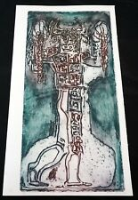 "1960s Mexican Etching Print 9/50 ""Minotaur"" by Alfredo Zalce (1908-2003) (Mod)"