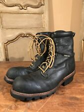 VINTAGE ROCKY SCOUT LOGGING HIKING ENGINEERING MENS BOOTS SIZE 10.5 M