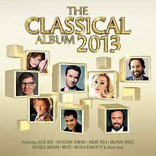 Classical Album 2013 (NEW 2CD) Andre Rieu Alfie Boe Blake Vangelis Mike Oldfield