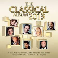 Classical Album 2013 (NEW 2CD) Andre Rieu Alfie Boe Blake Vangelis Mike Oldfield