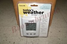 TAYLOR Today's Weather 24 Hour Forecaster NEW