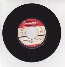 "Manuel DIAS Vinyl 45T 7"" JULIA FLORISTA - CABELO BRANCO Fado PRESIDENT 380 RARE"