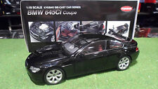 BMW 645 Ci Coupé noir Black au 1/18 KYOSHO 08701BK voiture miniature collection