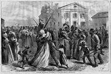 Petit Rock Arkansas Negroes Coloré Volontaires Noir Americana Histoire Foncé
