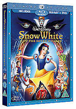 Snow White And The Seven Dwarfs (Blu-ray, 2009, 2-Disc Set)