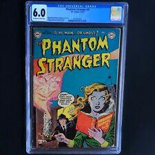 THE PHANTOM STRANGER #4 (DC 1953) 💥 CGC 6.0 💥 Only 7 Higher Graded! *Must See*