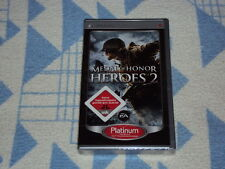 Medal of Honor: Heroes 2 (sony psp, 2009) NEUF emballage d'origine