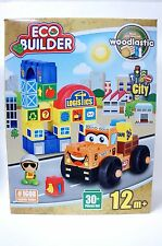 Brand New Sealed Eco Builder City Building Blocks Logistic Center For 12 Months+