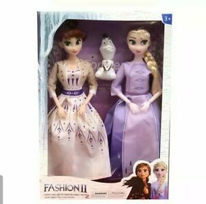 3pcs Frozen Princess Disney. 11 inch Anna Elsa Doll Toy