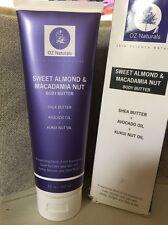 OZ Naturals Sweet Almond & Macadamia Nut - BODY BUTTER - 8 Fl. Oz.