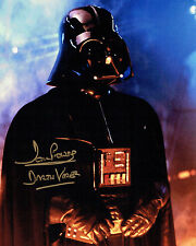 Dave PROWSE SIGNED Autograph Darth VADER Star Wars 10x8 Gold Photo A AFTAL COA
