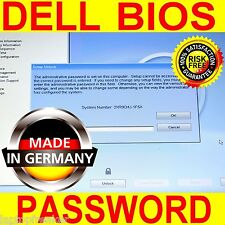 Dell Latitude E6420 E6520 System Admin BIOS Password löschen Unlock  1D3B