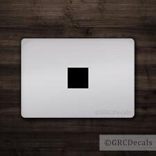 Square Cover - Mac Apple Logo Cover Laptop Vinyl Decal Sticker Macbook