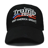 US President Donald Trump 2020 Keep America Great Hat Election Cap Black