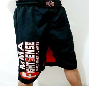 Fight MMA Grappling Short Cage KICK BOXING Trunks MUAY Thai Gym Men Women AU UFC