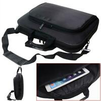 "Portable Handbag Shoulder Laptop Notebook Bag Case for 15"" Computer PC Black BE"