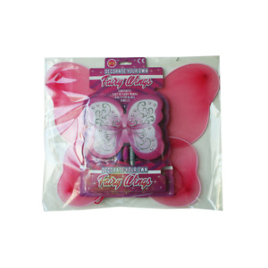 Decorate Your Own Fairy Wings Kit - Arts & Crafts - Creative - Dress Up -  New